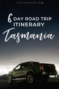 How to spend 6 days in Tasmania. A Tasmania road trip itinerary that takes you to the Bay of Fires, Wineglass Bay and many more tasmania highlights! Bucket List For Teens, Bucket List Family, Bucket Lists, Winter Road, Winter Travel, Enjoy Your Vacation, Vacation Trips, Wanderlust, Tasmania Road Trip