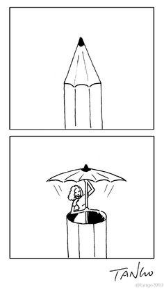 Funny drawings, comics, illustrations by Shanghai Tango - 19