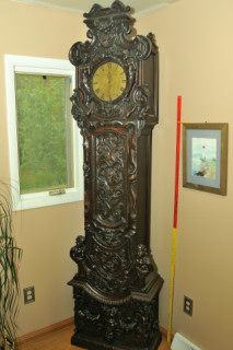 Thomas Worsfold, Dorking, Grandfather Clock, late 1700's