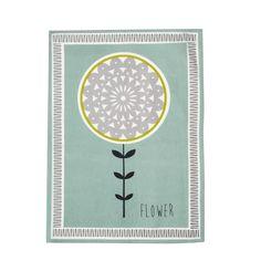 Debenhams Lime woven 'Helsinki' tea towel- at Debenhams.com