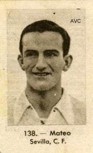 MATEO (Sevilla C.F. - 1940)