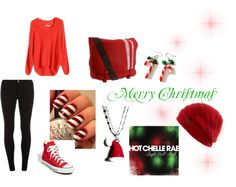 """A Christmas Get Togther"" by xxxmusicandcartoonsxxx ❤ liked on Polyvore"