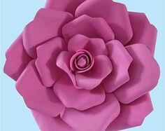 Paper flower wall decor paper flower sets large paper flower floral paper craft template flower template paper cutting paper flower templates mightylinksfo