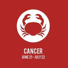 Cancer ZODIAC Print // Custom Color by JSGD on Etsy, $18.00