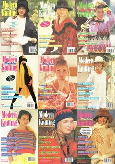 Rare Modern Machine Knitting Magazine Collection Free PDF Download