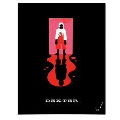 Creative Dexter, Mattson, Creative, Tv, and Poster image ideas & inspiration on Designspiration Dexter Poster, Typography Letters, Lettering, Silk Screen Printing, Cool Posters, Movie Posters, Collage Art, Anime Art, Poster Prints
