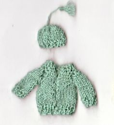 quarter scale sweater and hat