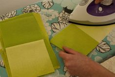 "You'll want to double check your seams alternate so they ""nest"" when you sew your blocks together."
