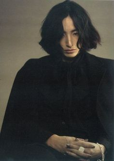 Portrait Photography Inspiration : pyrrhics: Lee Soo Hyuk --- A young Snape, if you will. Human Reference, Photo Reference, Drawing Reference, Portrait Fotografie Inspiration, Portrait Photography Inspiration, Aesthetic People, Interesting Faces, Drawing People, Pretty People
