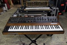 MATRIXSYNTH: Sequential Circuits Prophet 5 SN 1433 with MIDI