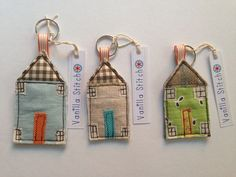 House key tag. @Hilary Johnson. I want   To do this. (After the quilt and the flag and...)