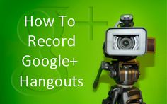 Great blog post at Kim Garst - Social Media for Business Owners : You've probably heard of Google+ hangouts. If not, they allow you to host video conferences with up 9 other people at once. Hangouts tot[..]
