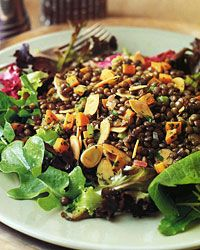 Lentils Vinaigrette: It was delicious and felt like the perfect fall dish!  We may have to make it for Friendsgiving!