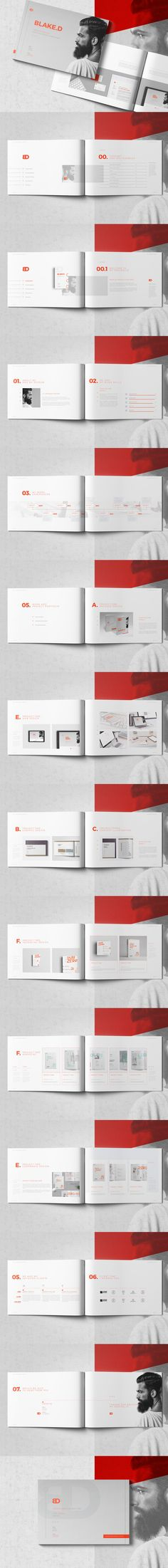 Professional & Creative Multipurpose Portfolio Brochure Template InDesign INDD - 28 Pages, A4 & US Letter Size