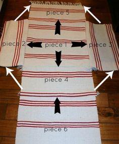 sitzkissen aus ikea teppichen n hen kissen sitzkissen bodenkissen n hen pinterest. Black Bedroom Furniture Sets. Home Design Ideas