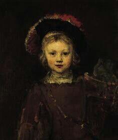 Ritratto di bambino (Titus). 1655-1660. Olio su tela. Norton Simon Museum, Pasadena (CA)