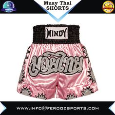 Windy Muay thai short custom Sublimation printed muay thai short