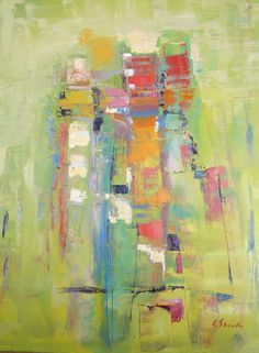 Carol Sneed. Wonderful use of color.