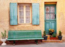 blue door:)