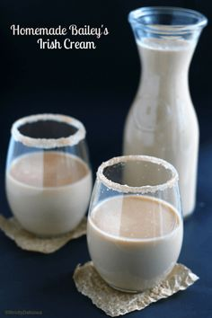 Homemade Bailey's -  RUM VERSION