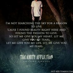 Open Letter by The Amity Affliction!