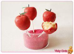 Cake Pops con Manzana | Sucre Art