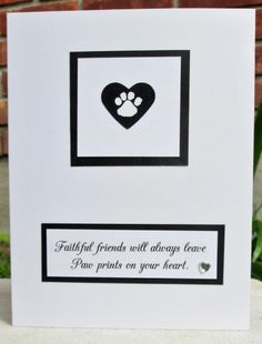 Faithful friends - Pet Sympathy by mandianna - Cards and Paper Crafts at Splitcoaststampers