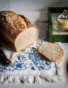 Pan de molde estilo inglés | Recetas con fotos paso a paso El invitado de invierno