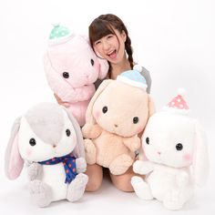Pote Usa Loppy Fuyu Jitaku Rabbit Plush Collection (Big)