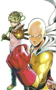 One Punch Man Artwork Saitama Genos by on DeviantArt Saitama One Punch Man, One Punch Man Anime, One Punch Man Heroes, One Punch Man 3, Manga Anime, Anime One, Manga Art, One Punch Man Wallpapers, Page One