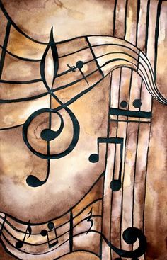 Music Art, from Raindrops and Roses