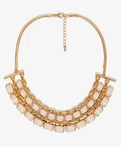 Regal bib necklace