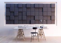 Baux Acoustic Pixel 3D Panels (sound proofing)