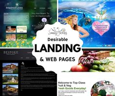 Get your landing page or website designed by SammyJackles