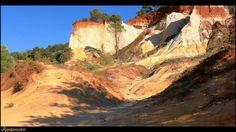 Video Rustrel, colorado provençal