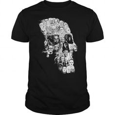 Awesome Tee Horror Skull T-Shirts