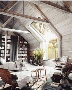 BRB lounging here all day. via @ashleytstark #scandinavian #interior #homedecor #simplicity #whiteliving