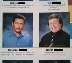 35 Funny Yearbook Quotes of Uninspired Seniors -