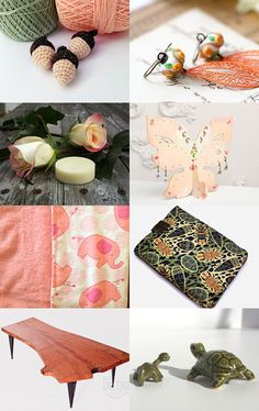 Peach in the forest by Olga on Etsy--Pinned with TreasuryPin.com