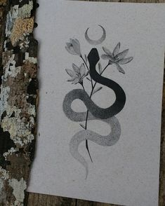 Mystic Serpent 🔮🌙🌿 🔮🌙🌿Art is available for tattoos. - Mystic Serpent 🔮🌙🌿 🔮🌙🌿Art is available for tattoos. Tattoo Drawings, Body Art Tattoos, New Tattoos, Sleeve Tattoos, Art Drawings, Tattoo Art, Tatoos, Snake Drawing, Snake Art