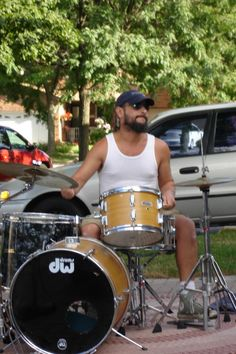 Funky Drummer! Drums, Shots, Music Instruments, Live, Musical Instruments, Drum Sets, Drum, Drum Kit