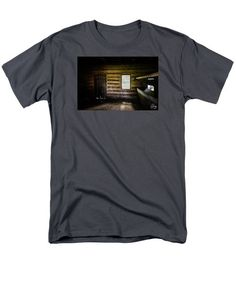 Men's T-Shirt  (Regular Fit) featuring the photograph Sunlight In The Stable by Joshua Zaring