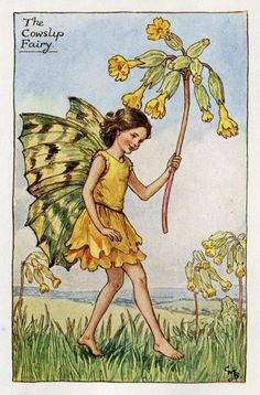 Cowslip Flower Fairy, c.1927, by Cicely Mary Barker