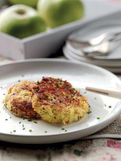 Jo Pratt's Bramley Apple, Potato and Ham Rösti | Bramley Apples