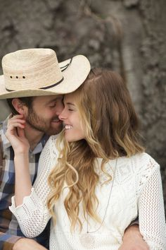 Outdoor Country Engagement by elovephotos - KnotsVilla