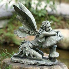 My Garden Would Love This One Delphinia Color Fairy Statue
