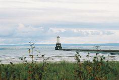 Keeweenaw Waterway Lighthouse.  Keeweenaw Peninsula, Upper Peninsula of Michigan.
