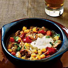 Chicken Verde Stew with Hominy | MyRecipes.com