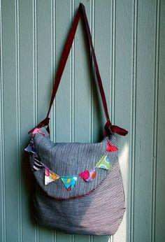 Cute bunting bag