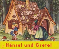 Hänsel und Gretel | Gebrüder Grimm / Hänsel und Gretel  Kinderbuch Pestalozzi Verlag / Deutschland ex libris MTP